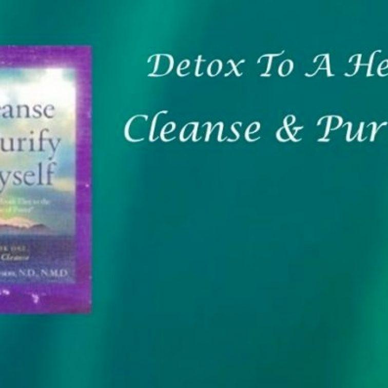 Cleanse & Purify Vocal Coach Alexys Paris SingLikeTheStarz.com Singing Lessons