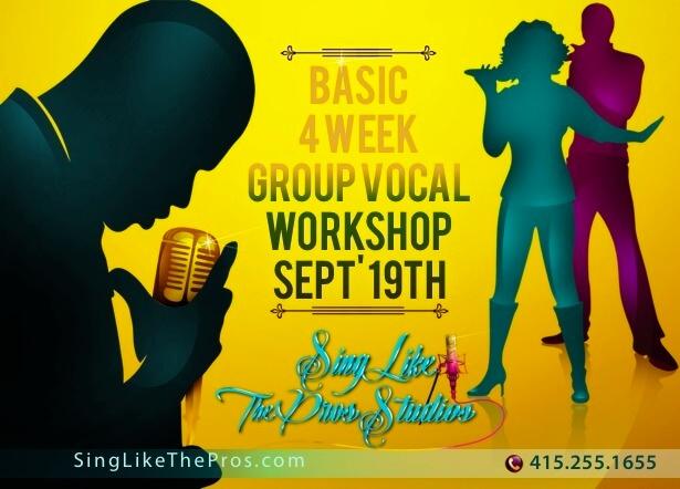 SLS' Basic Grp Voice Singing Classes SingLikeTheStarz.com Studios Oakland SF Bay