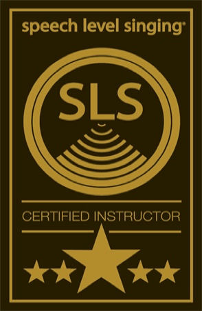 SLS' Instructor's Certificate Singing Voice Lessons Vocal Coach Technique